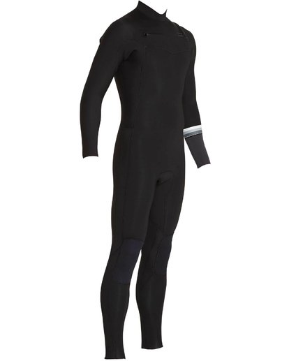 2 302 Revolution DBah Chest Zip Fullsuit Black MWFUNBR3 Billabong