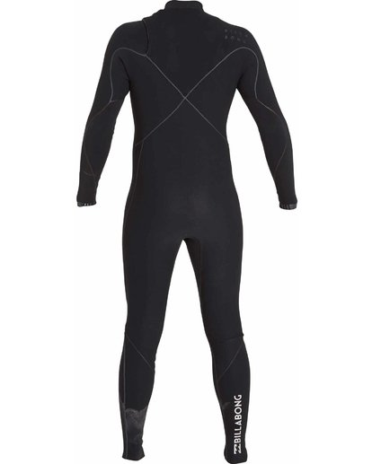 4 2/2 Furnace Carbon Ultra Chest Zip Fullsuit Black MWFUNBU2 Billabong
