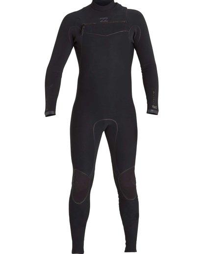 1 2/2 Furnace Carbon Ultra Chest Zip Fullsuit Black MWFUNBU2 Billabong