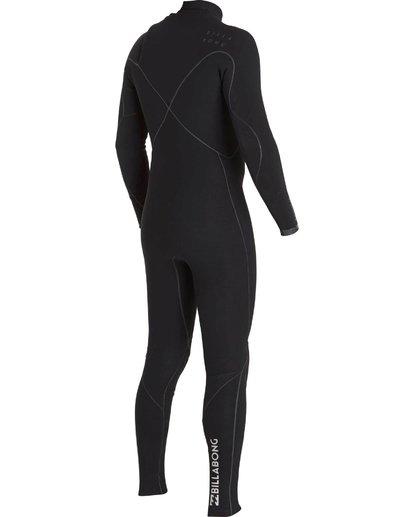 3 2/2 Furnace Carbon Ultra Chest Zip Fullsuit Black MWFUNBU2 Billabong