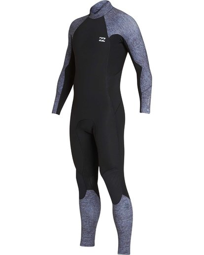 0 4/3 Furnace Absolute Back Zip Long Sleeve Fullsuit Grey MWFUTBA4 Billabong