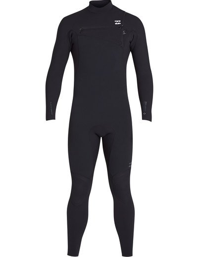 1 3/2 Furnace Pro Series Chestzip Fullsuit Wetsuit Black MWFUTBP3 Billabong