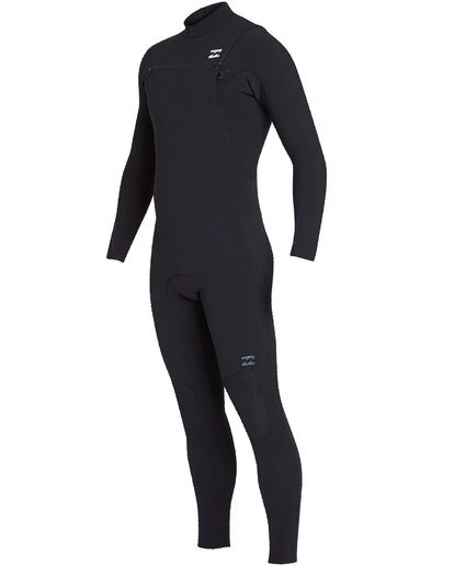 0 3/2 Furnace Pro Series Chestzip Fullsuit Wetsuit Black MWFUTBP3 Billabong