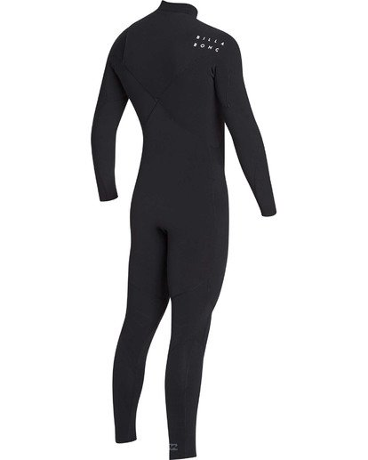 3 3/2 Furnace Pro Series Chestzip Fullsuit Wetsuit Black MWFUTBP3 Billabong