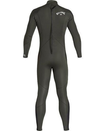 4 3/2 Furnace Absolute Back Zip Long Sleeve Fullsuit Green MWFUVBA3 Billabong