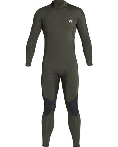 1 3/2 Furnace Absolute Back Zip Long Sleeve Fullsuit Green MWFUVBA3 Billabong