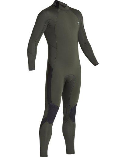2 3/2 Furnace Absolute Back Zip Long Sleeve Fullsuit Green MWFUVBA3 Billabong