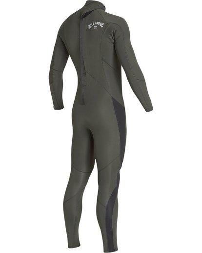 3 3/2 Furnace Absolute Back Zip Long Sleeve Fullsuit Green MWFUVBA3 Billabong