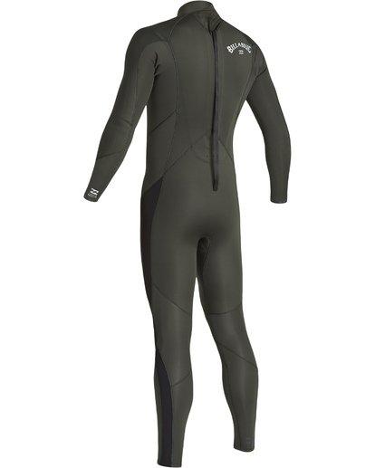 5 3/2 Furnace Absolute Back Zip Long Sleeve Fullsuit Green MWFUVBA3 Billabong