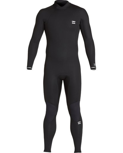 0 4/3 Furnace Absolute Back Zip Long Sleeve Fullsuit Black MWFUVBA4 Billabong