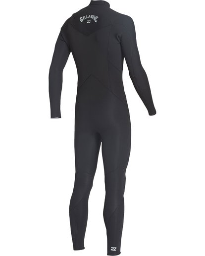 3 4/3 Absolute Chest Zip Fullsuit Black MWFUVBC4 Billabong