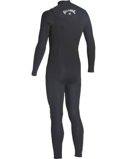 5 4/3 Furnace Absolute Chest Zip Fullsuit Black MWFUVBC4 Billabong