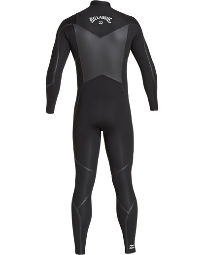 4 3/2 Furnace Absolute X Chest Zip Fullsuit Black MWFUVBE3 Billabong