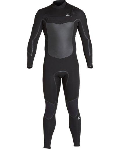 1 3/2 Absolute X Chest Zip Fullsuit Black MWFUVBE3 Billabong