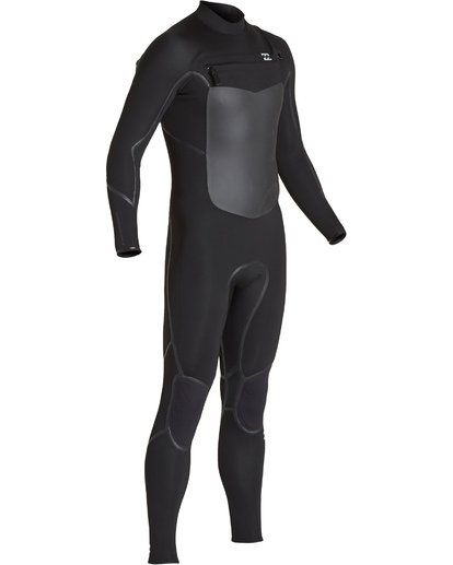 2 3/2 Furnace Absolute X Chest Zip Fullsuit Black MWFUVBE3 Billabong