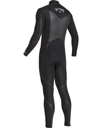 5 3/2 Furnace Absolute X Chest Zip Fullsuit Black MWFUVBE3 Billabong