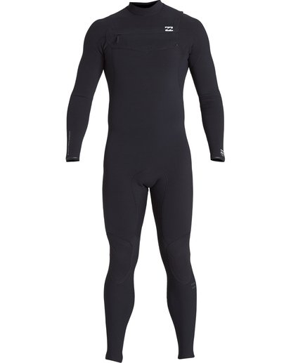 1 3/2 Furnace Comp Chest Zip Fullsuit Black MWFUVBF3 Billabong