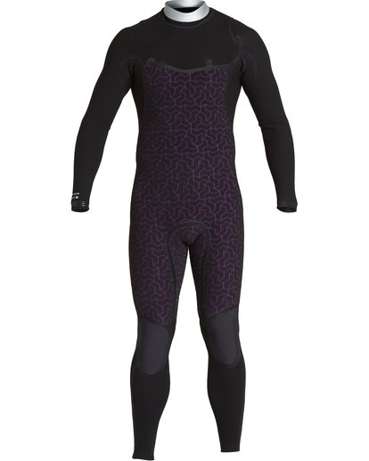 7 3/2 Furnace Comp Chest Zip Fullsuit Black MWFUVBF3 Billabong
