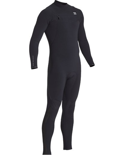 2 3/2 Furnace Comp Chest Zip Fullsuit Black MWFUVBF3 Billabong