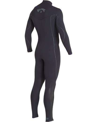 3 3/2 Furnace Comp Chest Zip Fullsuit Black MWFUVBF3 Billabong