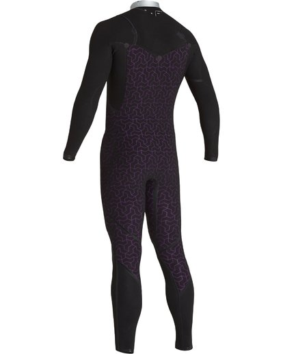6 4/3 Furnace Comp Chest Zip Fullsuit Black MWFUVBF4 Billabong
