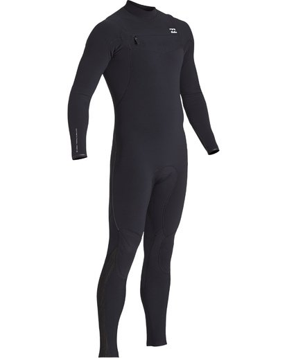 2 4/3 Furnace Comp Chest Zip Fullsuit Black MWFUVBF4 Billabong