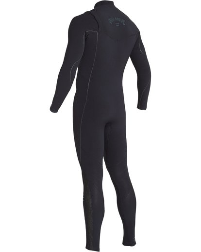 3 4/3 Furnace Comp Chest Zip Fullsuit Black MWFUVBF4 Billabong