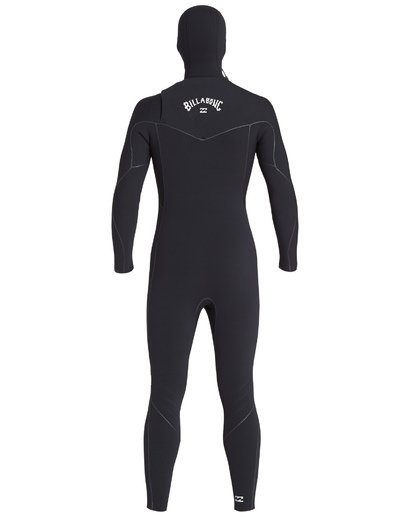 2 5/4 Furnace Ultra Hooded Fullsuit Black MWFUVBH5 Billabong