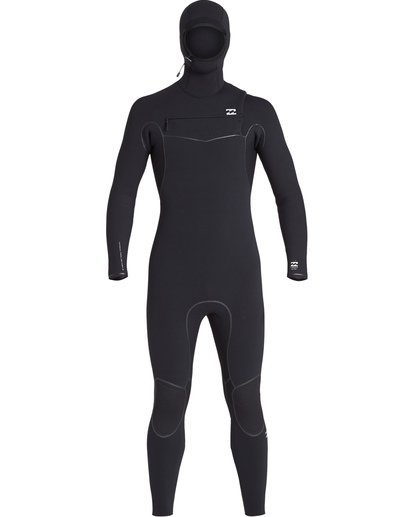 1 5/4 Furnace Ultra Hooded Fullsuit Black MWFUVBH5 Billabong