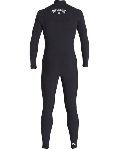 3 3/2 Revolution  Pro Chest Zip Full Wetsuit Black MWFUVBP3 Billabong