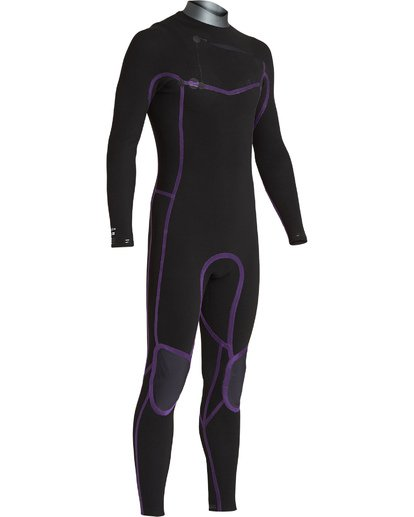 6 3/2 Revolution  Pro Chest Zip Full Wetsuit Black MWFUVBP3 Billabong