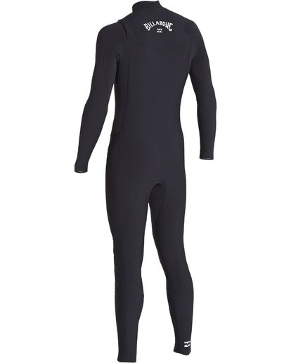 3 4/3 Revolution Pro Chest Zip Fullsuit Black MWFUVBP4 Billabong