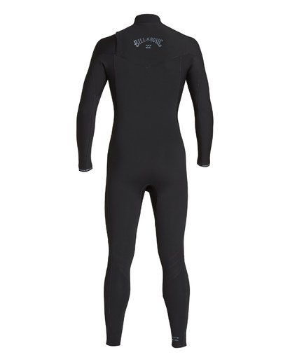 4 3/2 Revolution Chest Zip Fullsuit Black MWFUVBR3 Billabong