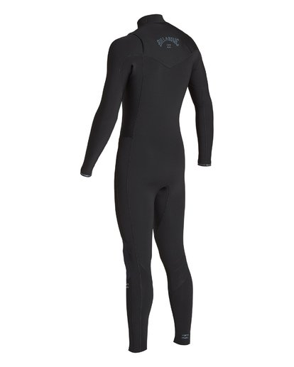 3 3/2 Revolution Chest Zip Fullsuit Black MWFUVBR3 Billabong