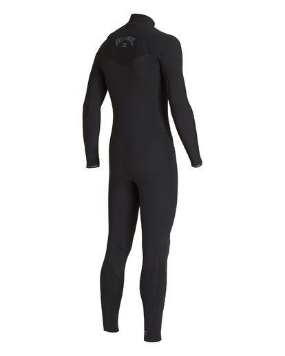 5 3/2 Revolution Chest Zip Fullsuit Black MWFUVBR3 Billabong