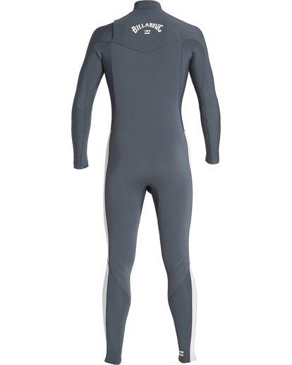 4 3/2 Furnace Revolution Chest Zip Fullsuit Grey MWFUVBR3 Billabong