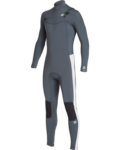 0 3/2 Furnace Revolution Chest Zip Fullsuit Grey MWFUVBR3 Billabong