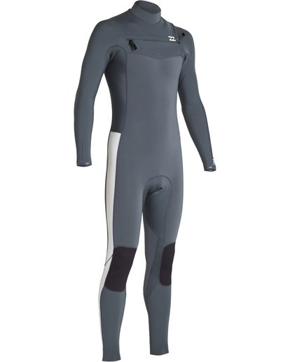 2 3/2 Furnace Revolution Chest Zip Fullsuit Grey MWFUVBR3 Billabong