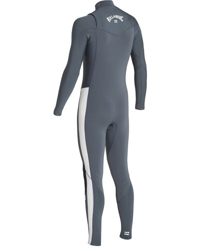 5 3/2 Furnace Revolution Chest Zip Fullsuit Grey MWFUVBR3 Billabong