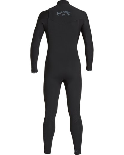 4 4/3 Furnace Revolution Chest Zip Fullsuit Black MWFUVBR4 Billabong