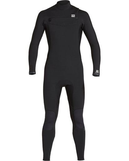 1 4/3 Furnace Revolution Chest Zip Fullsuit Black MWFUVBR4 Billabong
