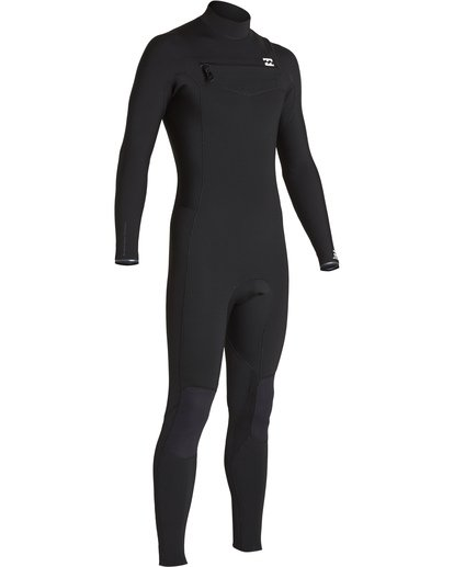 2 4/3 Furnace Revolution Chest Zip Fullsuit Black MWFUVBR4 Billabong