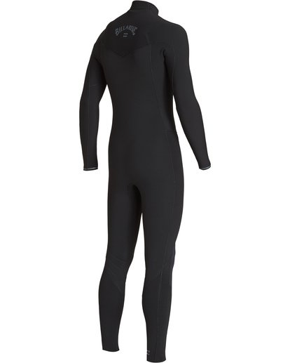 3 4/3 Revolution Chest Zip Fullsuit Black MWFUVBR4 Billabong