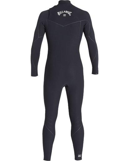 3 3/2 Furnace Ultra Chest Zip Fullsuit Black MWFUVBU3 Billabong