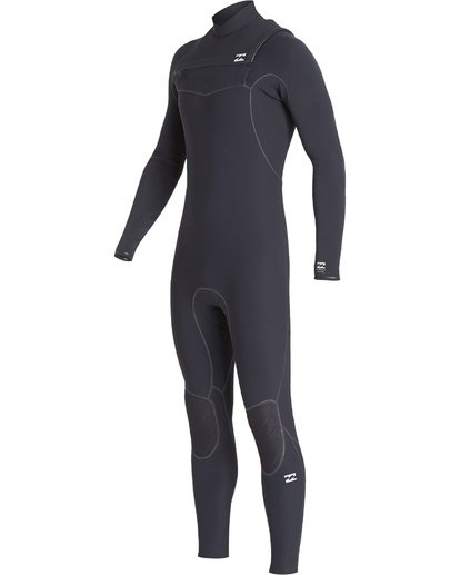 0 3/2 Furnace Ultra Chest Zip Fullsuit Black MWFUVBU3 Billabong