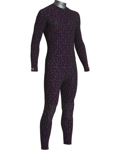 6 3/2 Furnace Ultra Chest Zip Fullsuit Black MWFUVBU3 Billabong