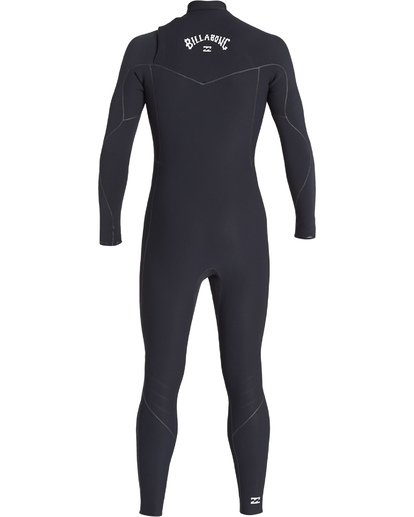 3 4/3 Furnace Ultra Chest Zip Fullsuit Black MWFUVBU4 Billabong
