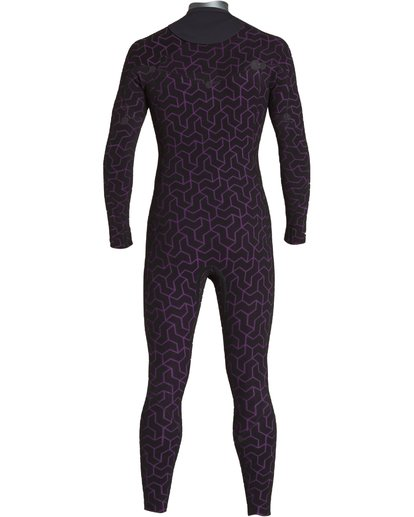 7 4/3 Furnace Ultra Chest Zip Fullsuit Black MWFUVBU4 Billabong