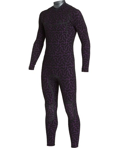 4 4/3 Furnace Ultra Chest Zip Fullsuit Black MWFUVBU4 Billabong
