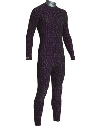 6 4/3 Furnace Ultra Chest Zip Fullsuit Black MWFUVBU4 Billabong